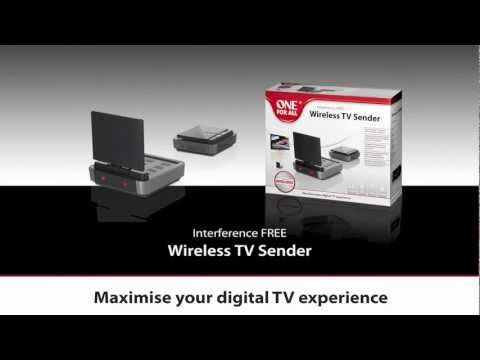 Signal Distribution - SV 1730 Wireless TV Sender | One For All
