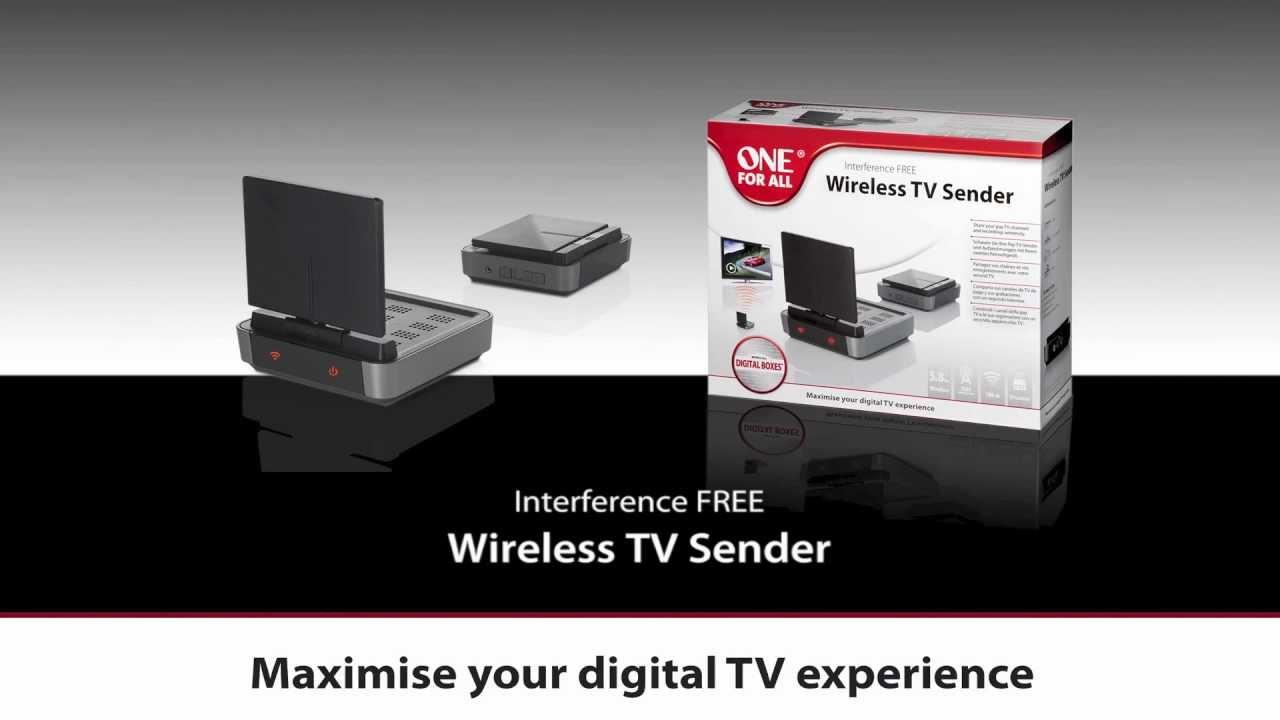 Signal Distribution - SV 1730 Wireless TV Sender | One For