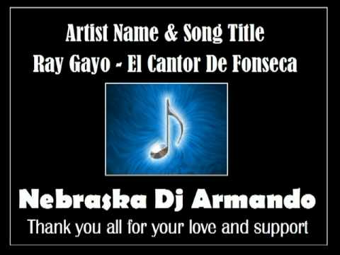 Ray Gayo - El Cantor De Fonseca