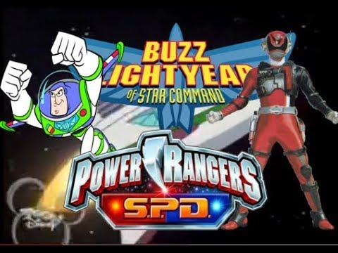 Buzz Lightyear Of Star Command (Power Rangers SPD Style)