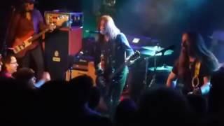 """BLACKBERRY SMOKE """" One Horse Town """" Concert à la MAROQUINERIE à PARIS 25 03 2017"""