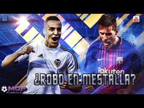 ROBO EN MESTALLA   FC BARCELONA vs VALENCIA FC   2017
