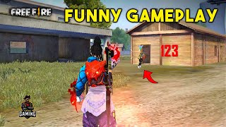 Funny Gameplay with Romeo, Jarvis and Drago Must Watch - Garena Free Fire