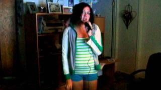 "Me singing Here I am- Renee Sandstrom (From ""Camp Rock"")"
