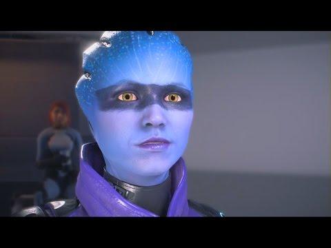 Mass Effect Andromeda: Peebee Romance Complete All Scenes
