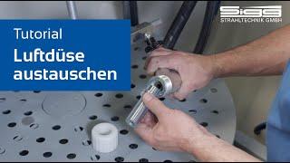 Luftdüse austauschen // Tutorial by SIGG Strahltechnik