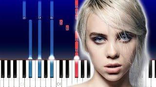 Billie Eilish - everything i wanted (Piano Tutorial)