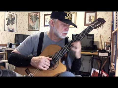 Walk Away Renee - Fingerstyle Guitar Cover - YouTube
