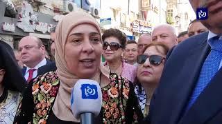 مسيحيو رام الله يحتفلون بسبت النور (27-4-2019)
