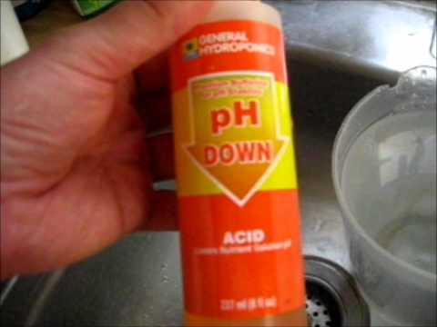 How to adjust water PH for hydro, soil or bio