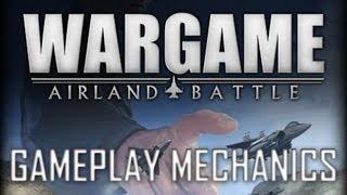 Wargame: Airland Battle Tutorial #2 Gameplay Mechanics