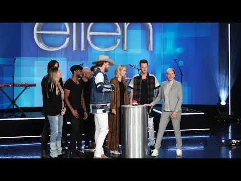 Ellen Helps Florida Georgia Line Star Find Out the Gender of His Next Baby! Mp3