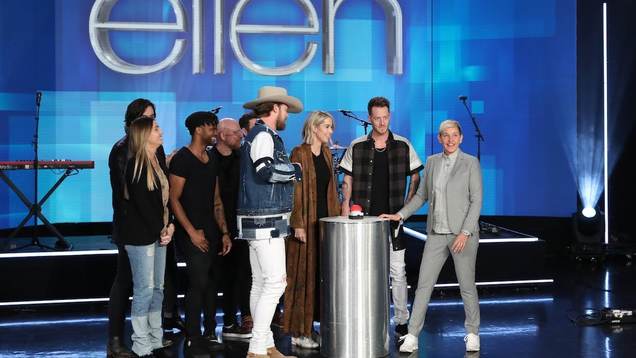 Ellen Helps Florida Georgia Line Star Find Out the Gender of His Next Baby!