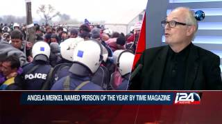 Angela Merkel named 'person of the year' by Time Magazine