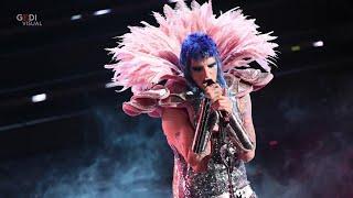 Sanremo 2021, da Mina al Punk Rock: tutti i quadri di Achille Lauro sul palco dell'Ariston