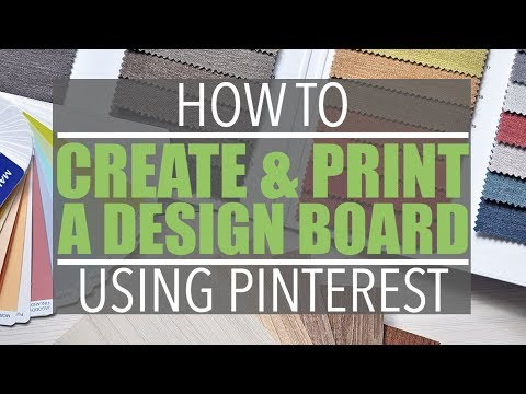 How to Print a Pinterest Board | Of Houses and Trees | Larissa Swayze