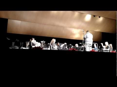 Greenfield High School, WI ~ Wind Ensemble Christmas Concert 2012 ~ 3rd Number
