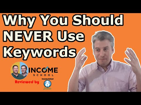 Income School's Project 24 : Why Don't We Use Keyword Tools?  Insights From A Real Student