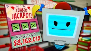 LITTLE GIRLBOT STEALS 8 MILLION DOLLARS - Job Simulator VR #3