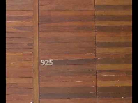 Pisos de madera para exteriores youtube - Madera para exteriores ...