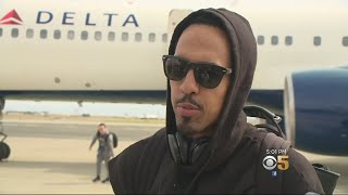 WARRIORS BACK HOME: NBA Champion Golden State Warriors arrive home to heros welcome