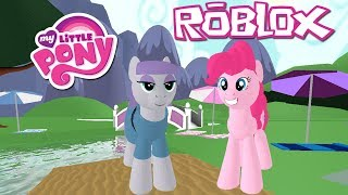 sorella del best Day Ever!! Roblox: My Little Pony 3D: Roleplay è magia ~ Pinkie Pie Pie & Maud