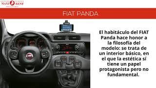 Maxirent Fiat panda Rent a Car Ibiza