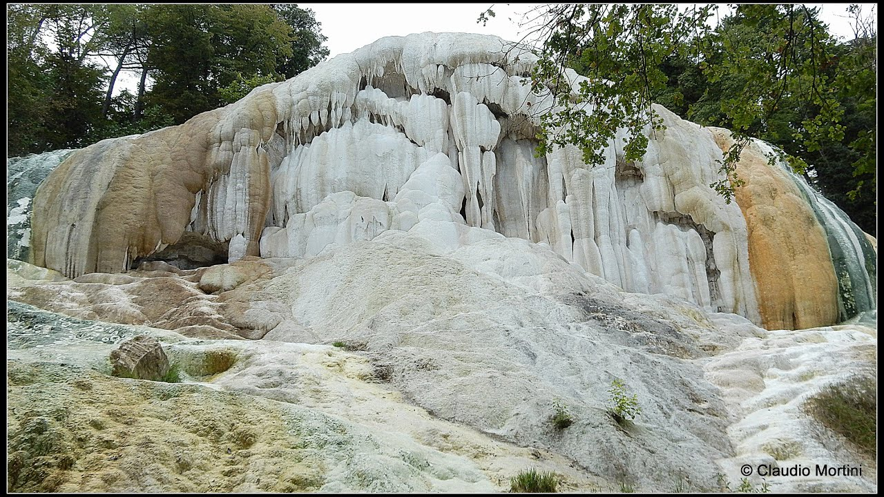 BAGNI SAN FILIPPO Terme libere in val dOrcia  Tuscany  HD  YouTube