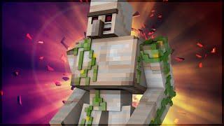 Minecraft: NOVO BOSS SUPER DESAFIADOR! (GOLEM)
