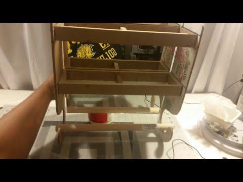 Diy / Dollar Tree Bathroom Shelf  with mirror and hanging roll/#2 Wall Shelf  /$5.5 dollar caft