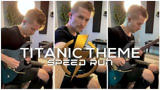 Titanic Theme • Speed Run ⚡️ #Shorts