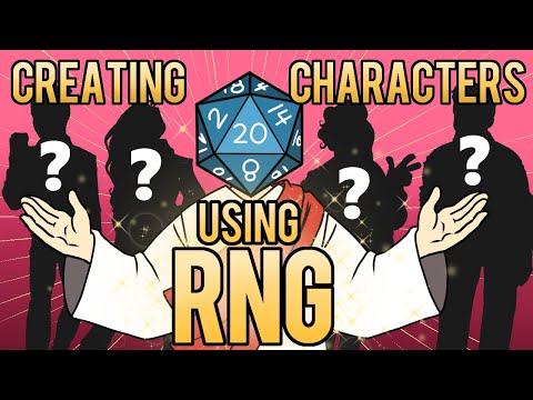 The RNG Character Making Challenge!