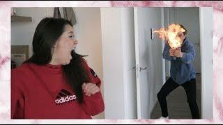 Stop 5 YouTubers in een huis en DIT gebeurt er...