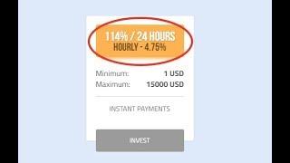 [СКАМ] СВЕЖИЙ ХАЙП ПЛАТИТ КАЖДЫЙ ЧАС! Инвестировать,вложить в новый фаст хайп ATMBTC