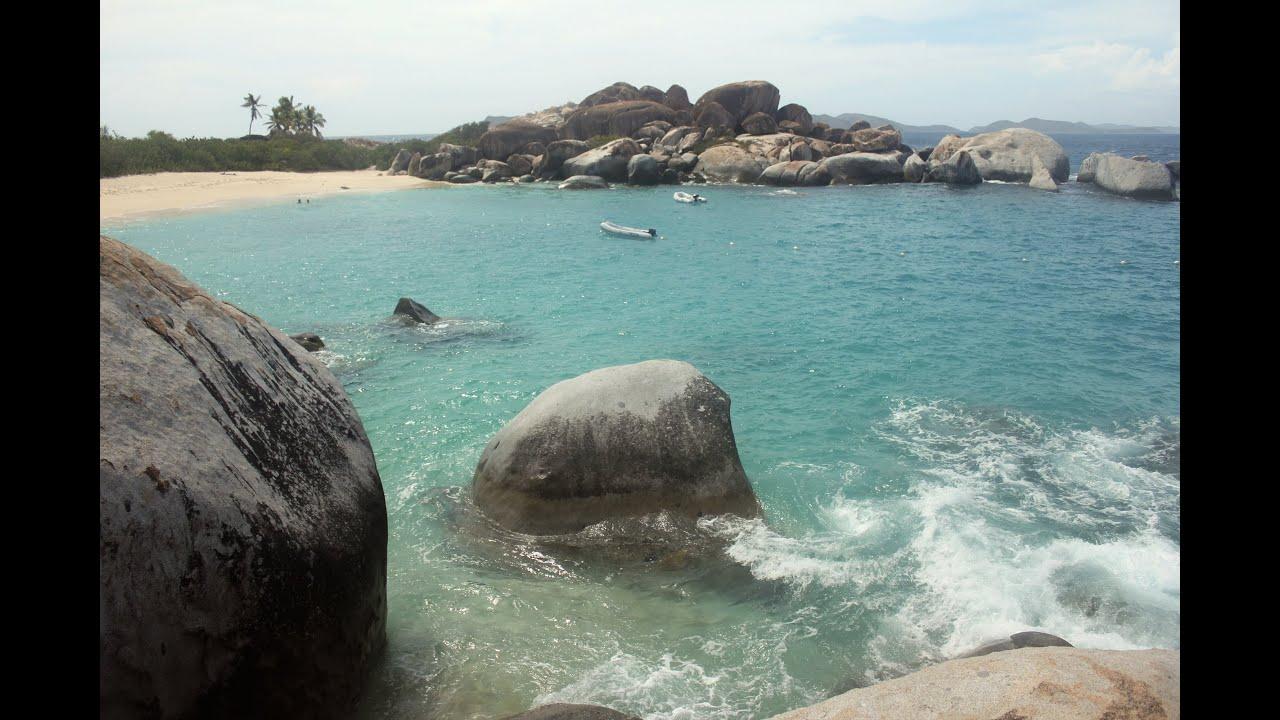 Top 10 Caribbean Beaches: The Baths Virgin Gorda BVI