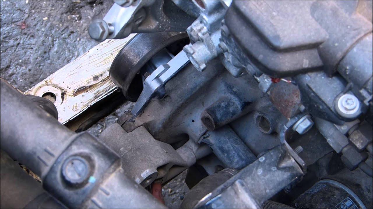 Demontare Pompa Apa Dacia Papuc Diesel Youtube