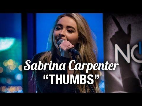 Sabrina Carpenter - Thumbs LIVE Acoustic Performance