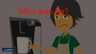Scary Story of a Cafe Boy! (Animated in Hindi)