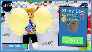 The Owner Gave Me $100,000,000 To Spend On Overpowered Pets! - Roblox Boxing Simulator
