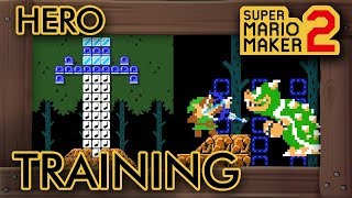 "Super Mario Maker 2 - Amazing ""Master Sword Training"" Level"