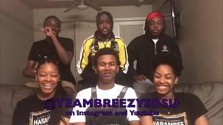 Back To Love - Chris Brown TEAMBREEZYSDSU Reaction Video