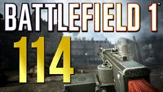 Battlefield 1: 114 Kills with the Godly SMG! Xbox One X Multiplayer Gameplay