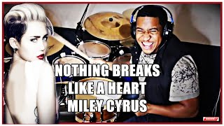 Miley Cyrus - Nothing Breaks Like a Heart - 2019 Drum Cover By Joshua Crawford