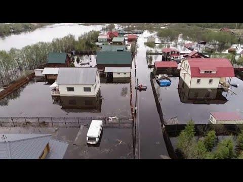 شاهد: الفيضانات تغمر منطقة مورمانسك الروسية والقرى المغمورة…  - نشر قبل 2 ساعة