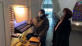 St. Marien entdecken | Zu Besuch bei unserem Organisten Christian