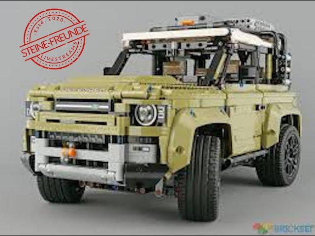 Lego Land Rover 42110 Teil 4: B-Model