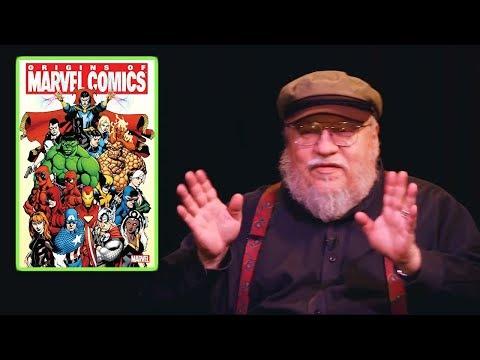 George RR Martin On Comic Books