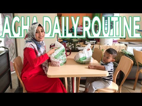 Kegiatan Agha sehari hari dari pagi sampai malam - Agha daily routine