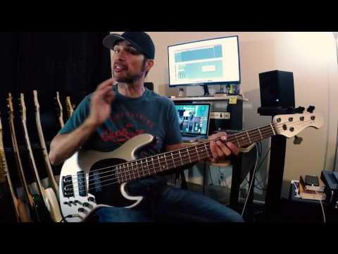 Colibri JBT 5 Bass With Nordstrand Pickups and Preamp