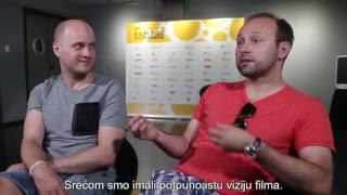 Mirja Okorn i Radoslaw Drabik, redatelj i producent filma Planet samaca // 63.PFF